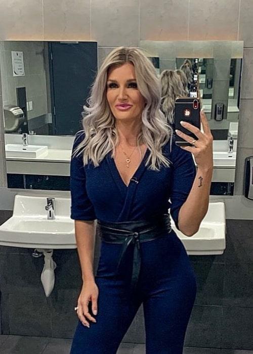 Kaylyn Kyle in an Instagram selfie in September 2019