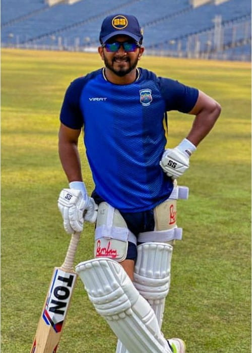 Kedar Jadhav in an Instagram post as seen in December 2019