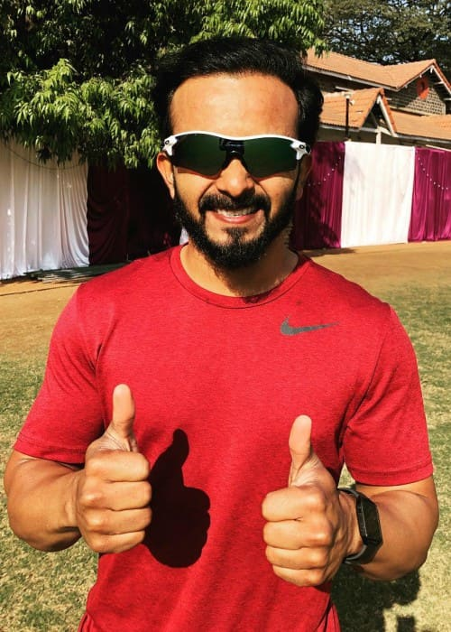 Kedar Jadhav in an Instagram post in December 2018