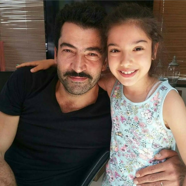 Kenan İmirzalıoğlu and Kübra Süzgün as seen in August 2017