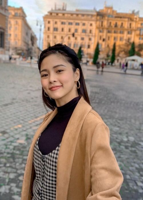 Kim Chiu as seen while taking a selfie in Rome, Italy in November 2019