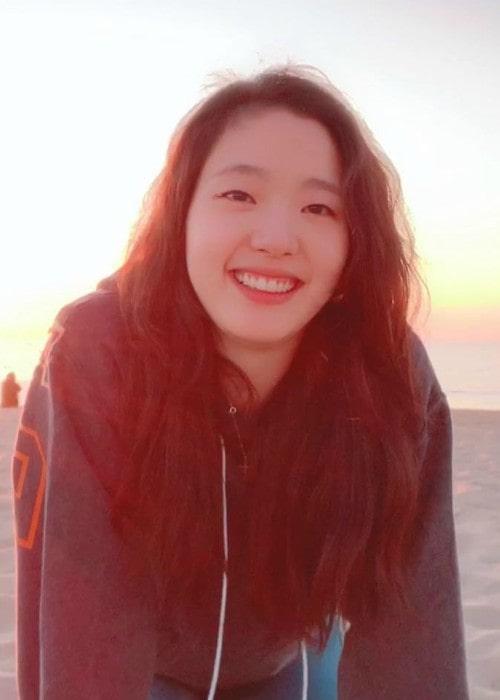 Kim Go-eun in an Instagram post as seen in March 2019