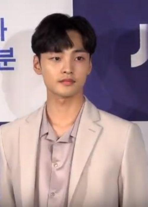 Kim Min-jae as seen in September 2019