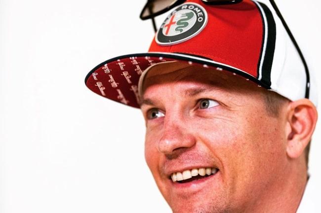 Kimi Räikkönen as seen in an Instagram Post in November 2019