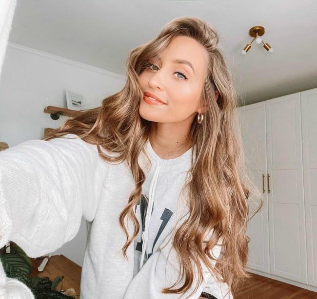 Kristin Johns in a selfie in November 2019