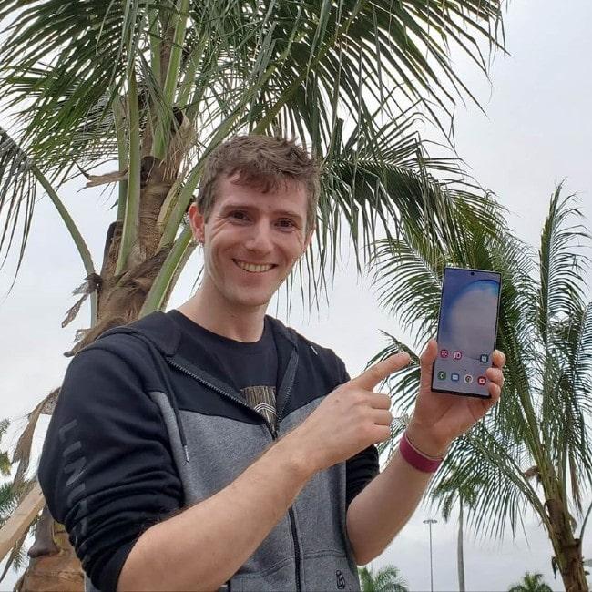 Linus Sebastian as seen in February 2020