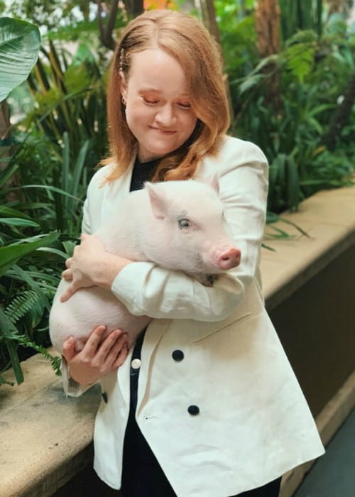 Liv Hewson as seen in November 2019