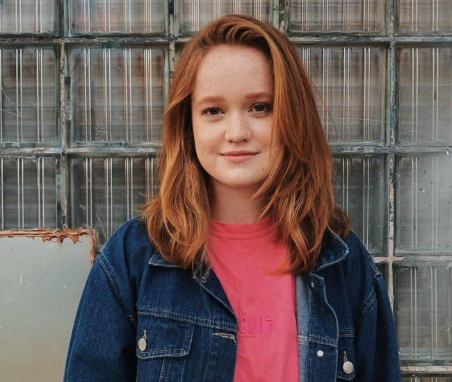 Liv Hewson as seen in October 2019