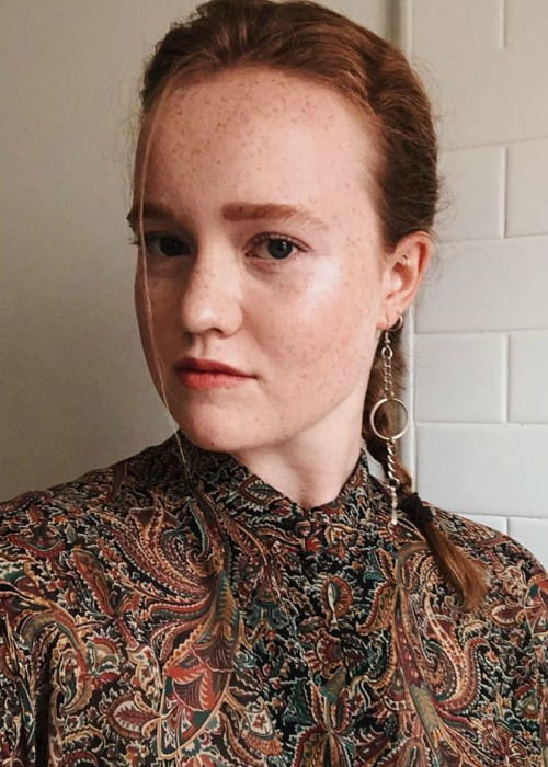 Liv Hewson in an Instagram post as seen in September 2019