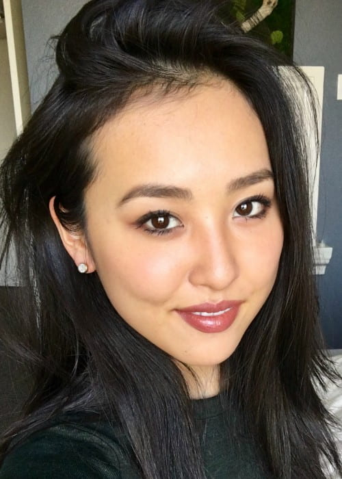 Lyrica Okano in an Instagram selfie as seen in November 2017