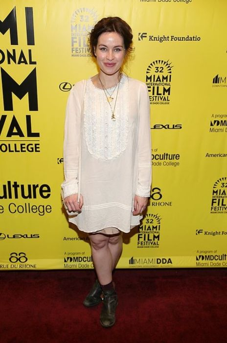 Maimie McCoy attending the premiere of Wild Tales at the Miami International Film Festival