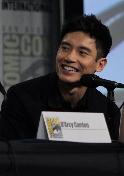 Manny Jacinto at the San Diego Hilton Bayfront Hotel during San Diego Comic-Con on July 21, 2018