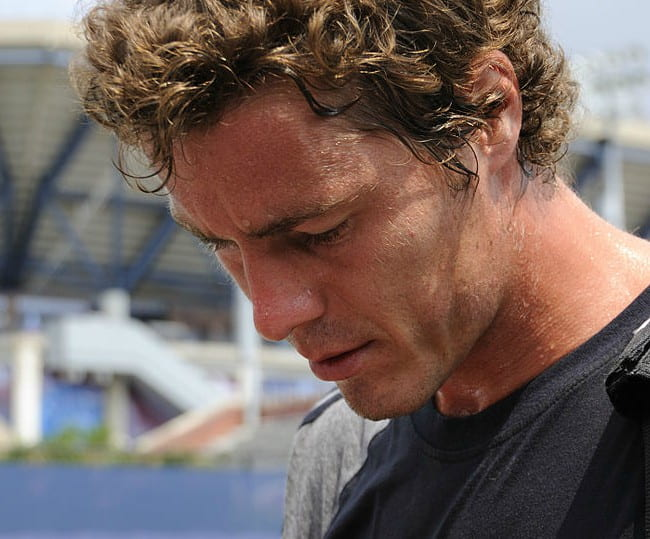 Marat Safin as seen in August 2008