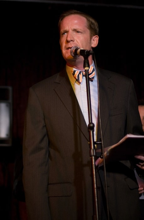 Marc Evan Jackson as seen while speaking at the Thrilling Adventure at M Bar, Los Angeles, California in September 2008