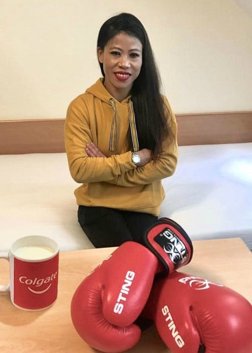 Mary Kom in an Instagram post in March 2019