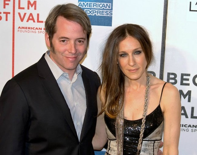 Matthew Broderick and and Sarah Jessica Parker at the 2009 Tribeca Film Festival