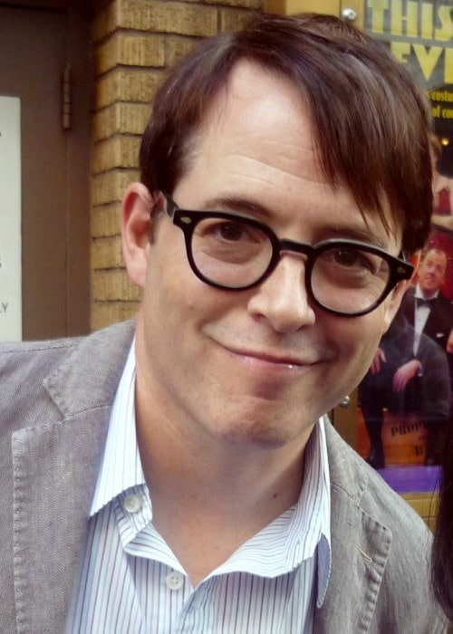 Matthew Broderick in New York City as seen in September 2012