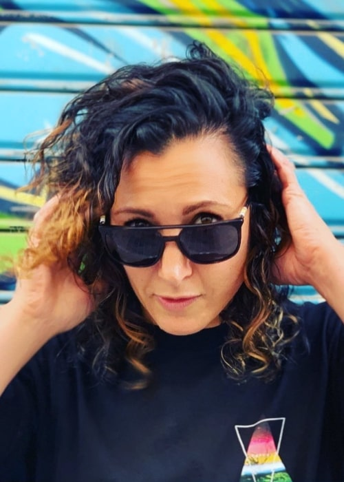 Melissa Tancredi as seen in a picture taken in June 2019
