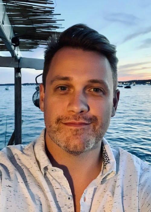 Michael Arden in an Instagram selfie as seen in August 2019