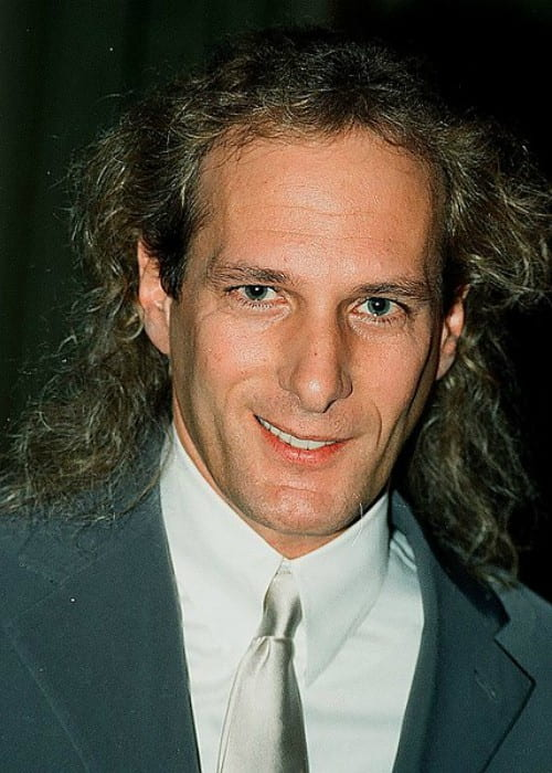 Michael Bolton during an event as seen in March 1997