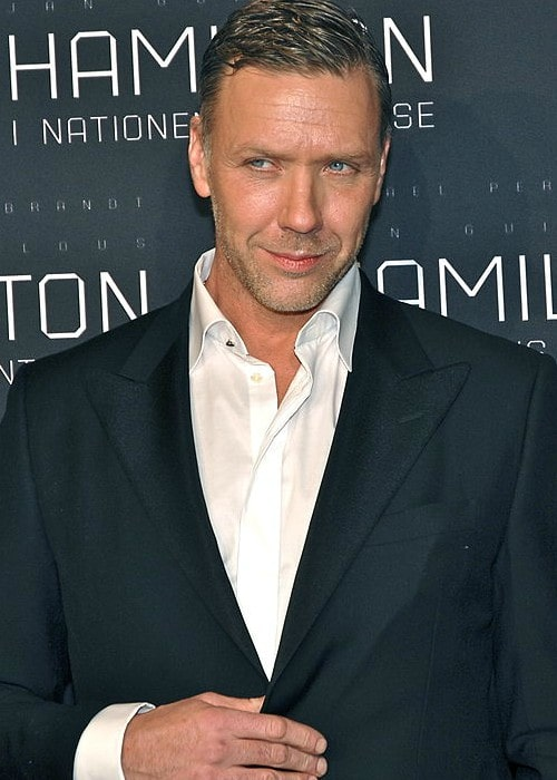 Mikael Persbrandt during an event in January 2012