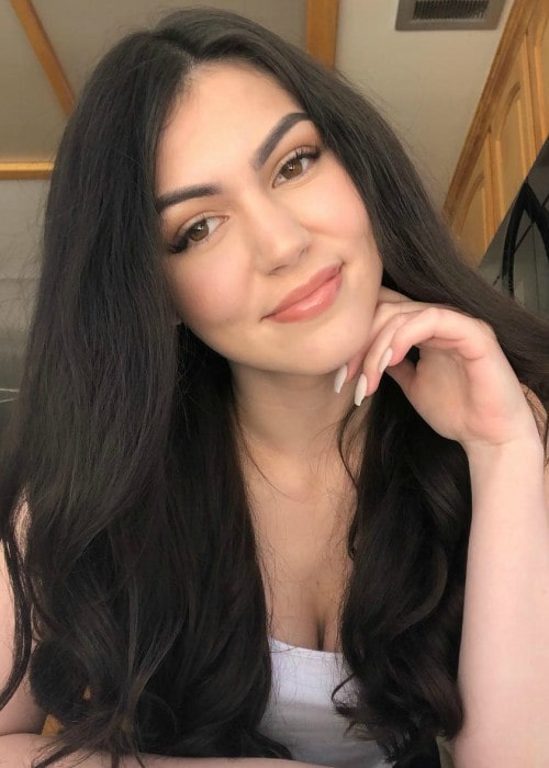 Mikaela Pascal in an Instagram selfie as seen in May 2019
