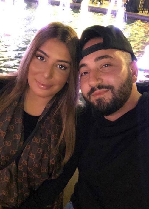 Moe Sargi and Shadia Sargi as seen during a trip to Las Vegas, in December 2019