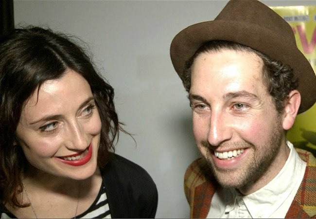 Natasha O'Keeffe and Dylan Edwards during an interview in March 2014