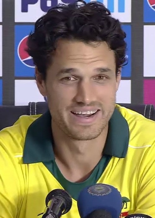 Nathan Coulter-Nile during an interview in March 2019