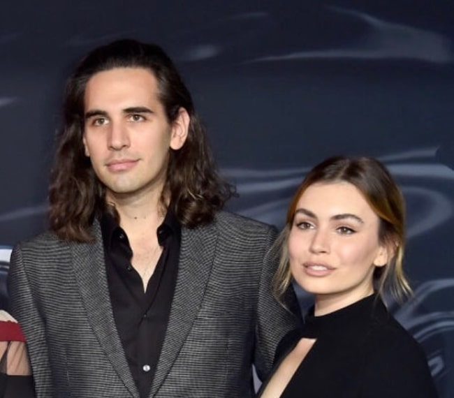 Nick Simmons and Sophie Simmons as seen in October 2018