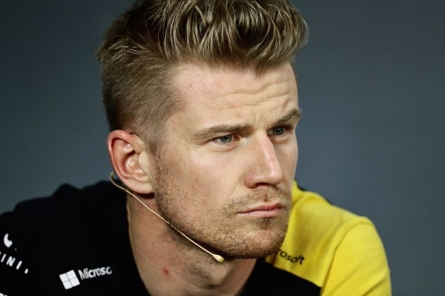 Nico Hülkenberg during a press conference on the sidelines of the 2019 French Grand Prix