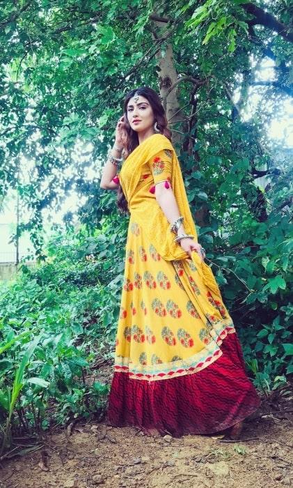 Nikita Sharma talking about her show Phir Laut Aayi Naagin in October 2019