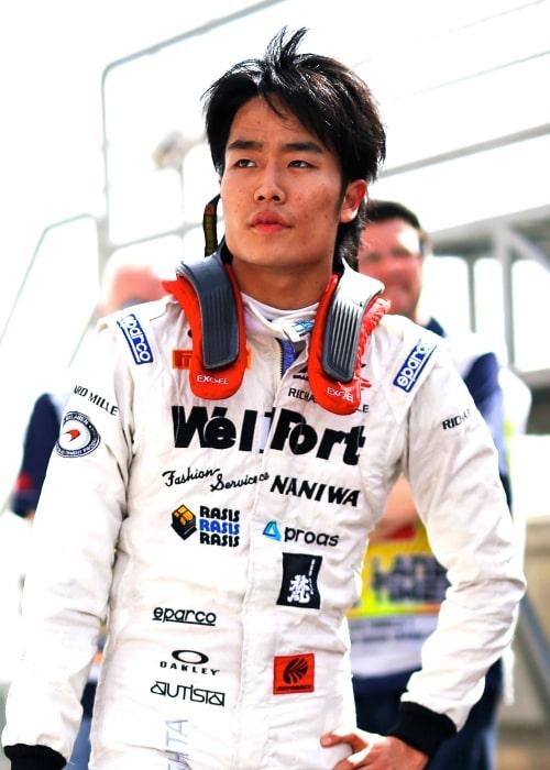 Nobuharu Matsushita as seen in a picture taken at the 2015 Bahrain Grand Prix