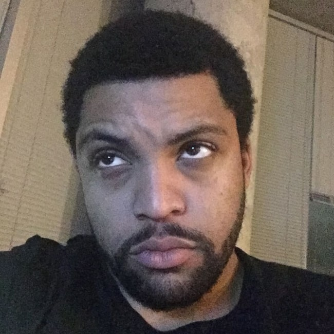O'Shea Jackson Jr. as seen in a selfie in March 2017