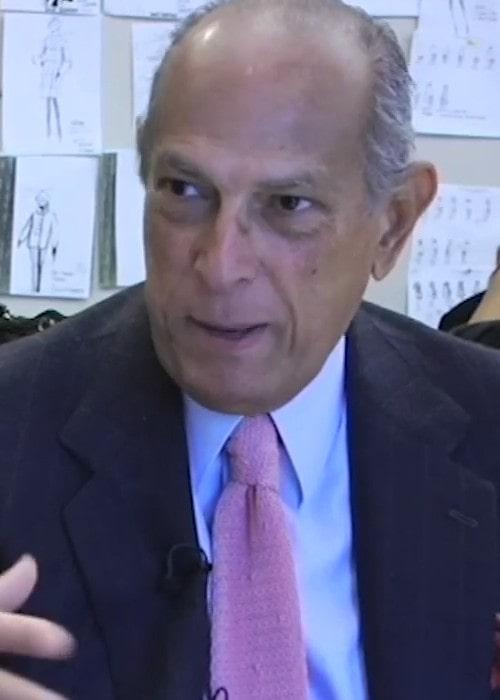 Oscar de la Renta as seen in October 2014
