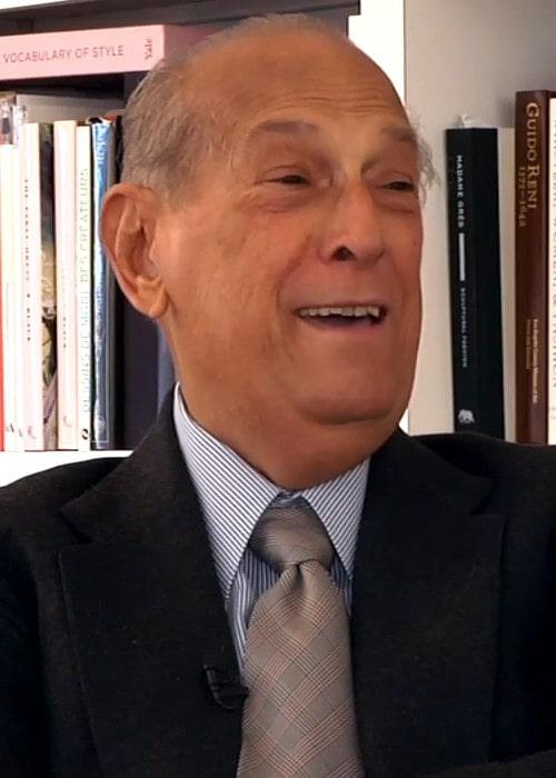 Oscar de la Renta duringa an interview as seen in March 2013