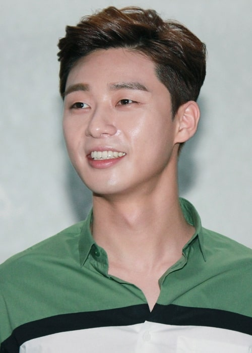 Park Seo-joon as seen at 'The Chronicles of Evil' stage greeting in Busan on May 23, 2015