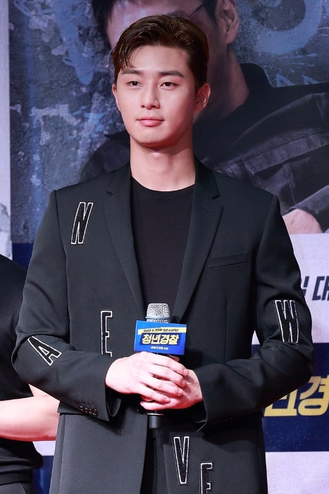 Park Seo-joon as seen in August 2017