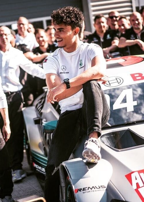 Pascal Wehrlein as seen in a picture taken in May 2018