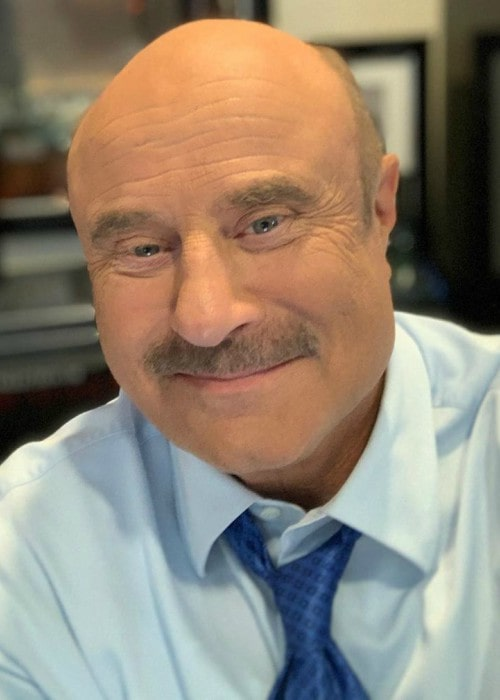 Phil McGraw in an Instagram selfie as seen in October 2019