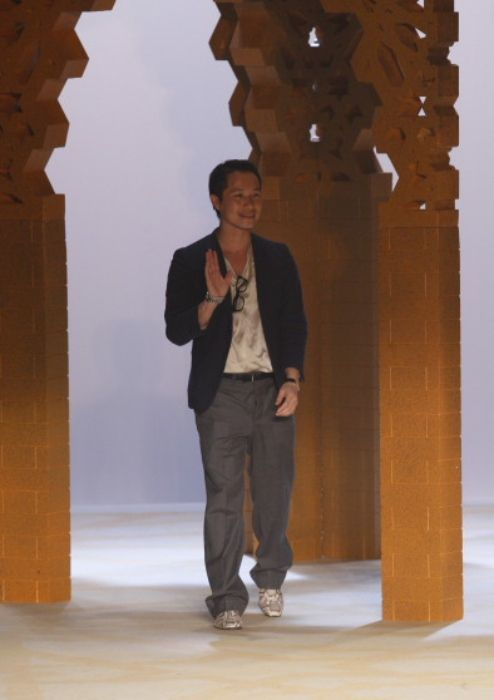 Phillip Lim seen during his Spring 2009 collection