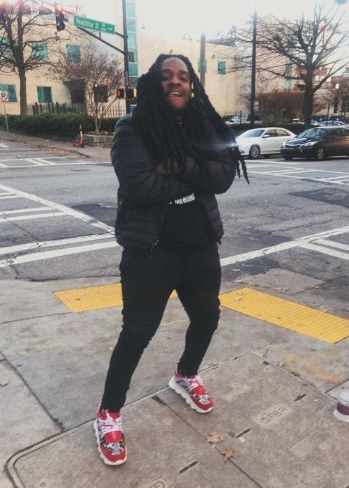 Poudii as seen in a picture taken in Atlanta, Georgia in December 2019