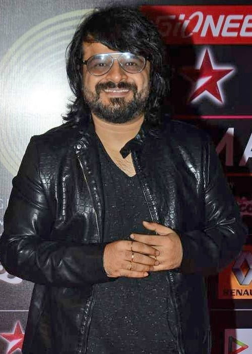Pritam Chakraborty at the 5th GiMA Awards in May 2015