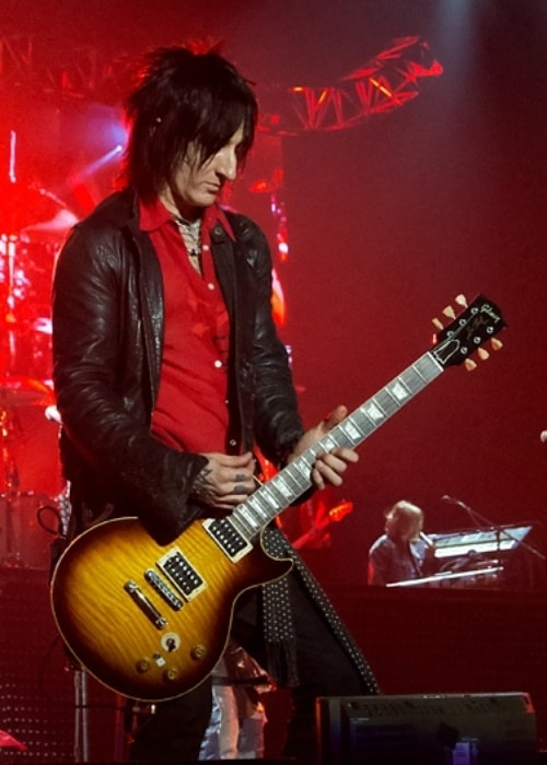 Richard Fortus as seen while performing during an event in June 2012