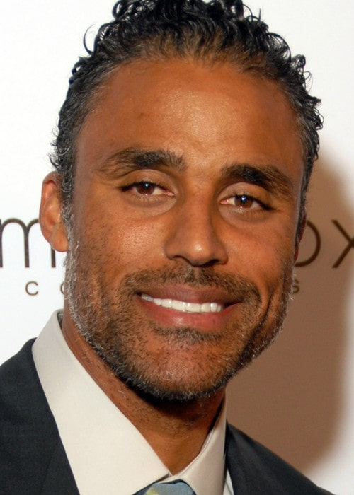 Rick Fox attending Susan G. Komen's 8th Annual Fashion For The Cure event in September 2009