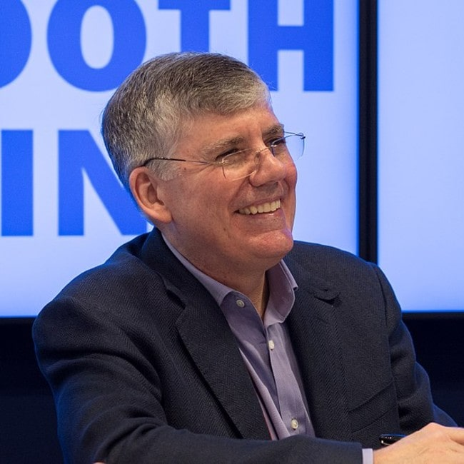 Rick Riordan as seen in May 2018