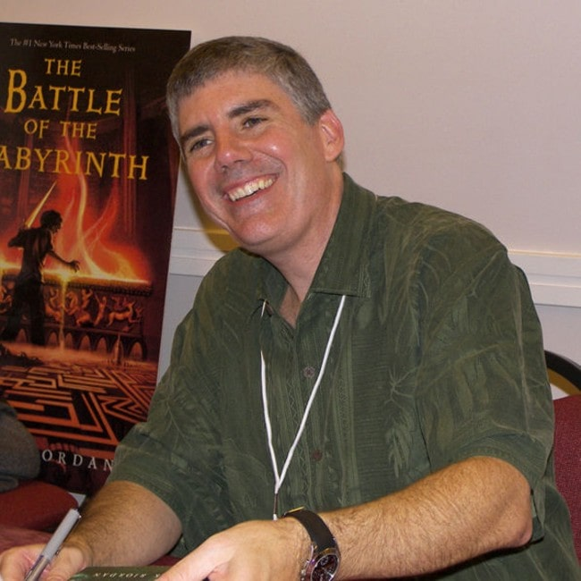 Rick Riordan as seen in November 2007