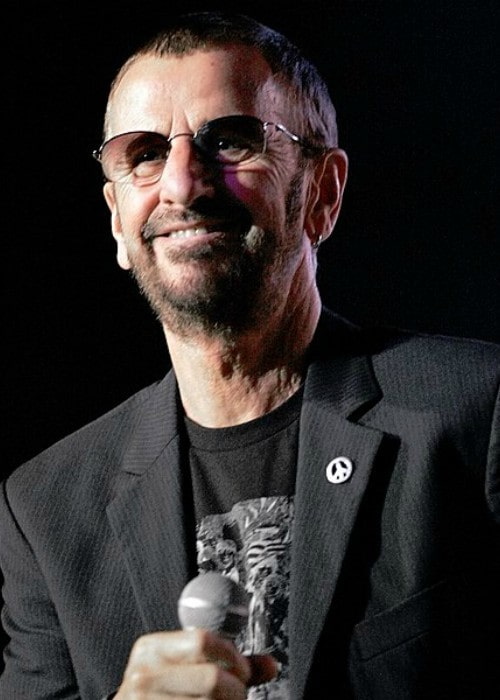 Ringo Starr as seen in February 2013