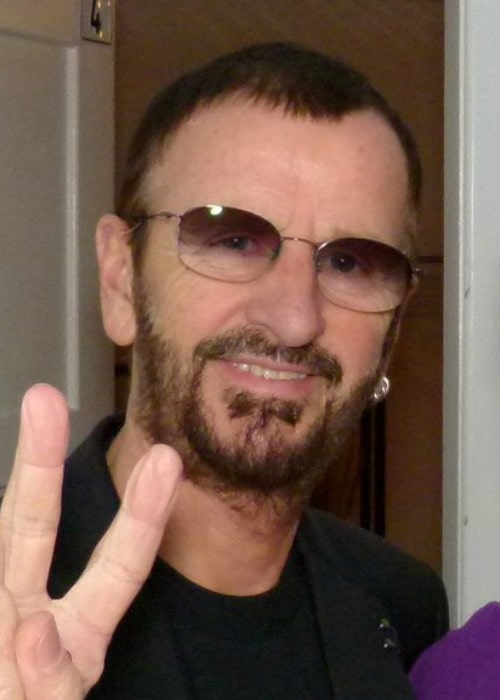 Ringo Starr as seen in January 2012