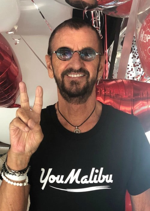 Ringo Starr in an Instagram post as seen in July 2019